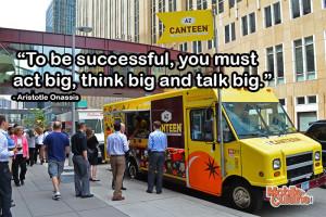Aristotle Onassis Success Quote | Mobile Cuisine