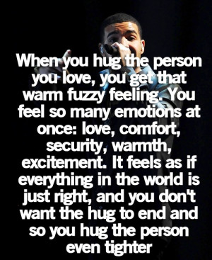 ... is always on point I love you baby I can't wait to feel you hug me
