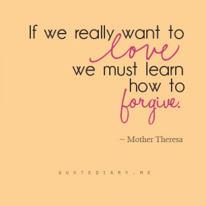 Learn How To Forgive