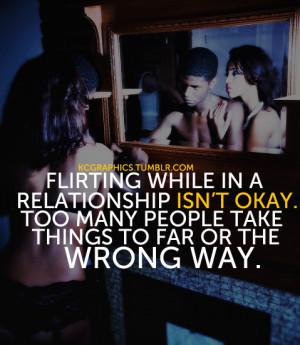 kcgraphics:Flirting isn't okay.