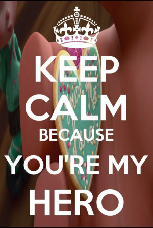 You're My Hero Cute... :)