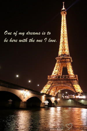 Showing Gallery For Eiffel Tower Love Quotes