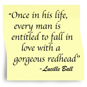 Lucille ball, nice, quotes, sayings, wise, fall in love