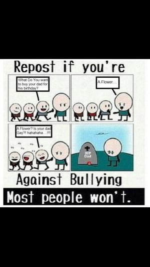 Don't bully!
