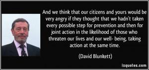 More David Blunkett Quotes