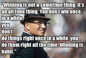 ... quotes from Vince up until gametime. Check them out and share them
