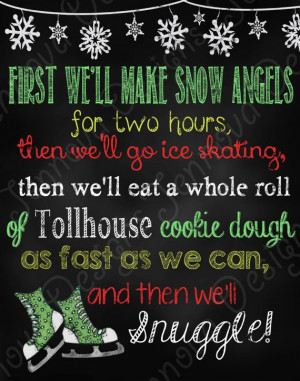11x14 Elf Movie Quote Christmas chalkboard printable by JennovaDesigns ...