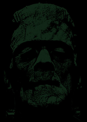 Details about Frankenstein's Horror Monster Mary Shelley on image of ...