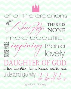 LDS Young Women Quotes