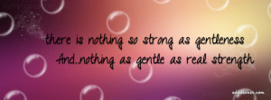 Gentle Strength Facebook Cover