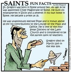 Saints Fun Facts