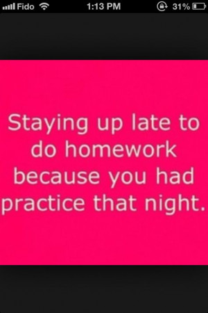 Or getting up really early because you fell asleep!!! More