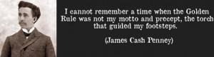 James Cash Penney Quote