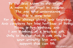 personalized mom poem happy birthday mom poems from your daughter