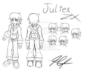 Julien Zx Character Development :3 ((Sketch)) by Quote-CurlyBrace