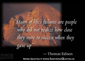 Thomas Edison Quotes Famous Thoughts of Thomas Edison, Sayings ...