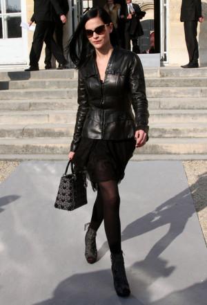 at the Dior Fashion Show during the 2011 Paris Fashion Week in Paris ...