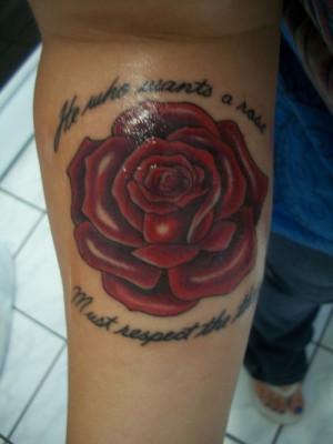 Rose & Quote