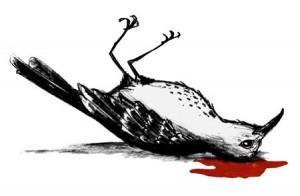 warmly embrace a racist novel ( to kill a mockingbird )