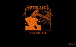 Metallica Ride The Lightning wallpaper