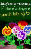 Classic Disney Alice in wonderland quotes.