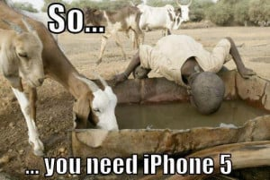 Funny Bakra (Goat) iPhone 5 - Picture