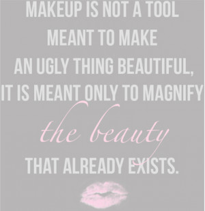 love makeup quotes