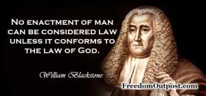 William Blackstone...