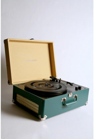 ... it is a retro styled record player that also converts vinyl into mp3s