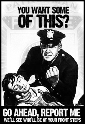 ... cops brutalizing citizens prevents the officers from