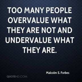 Undervalue Quotes