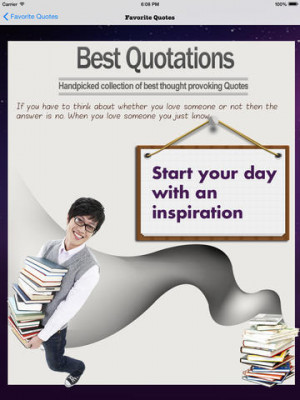 Best Quotations - A Collection Of Best Thought Provoking Quotes