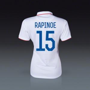 Megan Rapinoe USA Women's Home Jersey 2014