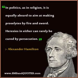 In Politics As In Religion