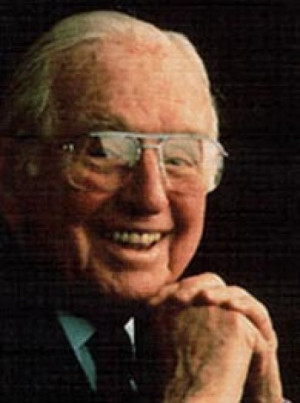 ... Norman Vincent Peale / Quotes by Norman Vincent Peale about Happiness