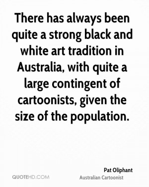 There has always been quite a strong black and white art tradition in ...