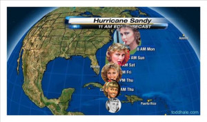 tagged with Funny Hurricane Sandy Pictures - 18 Pics
