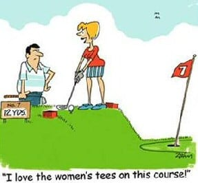 Golf Jokes for Women
