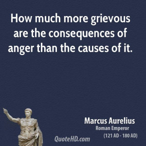 Marcus Aurelius Anger Quotes