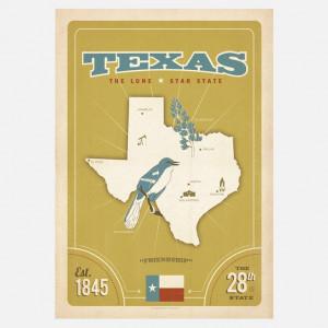eu.Fab.com | State Pride: Texas Print