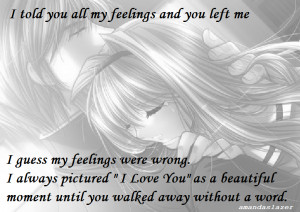 ... anime-sad-with-quotes, anime-beautiful-girl, lonely-quotes, couple-in