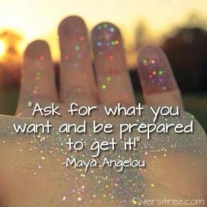 Ask! Believe! Receive!