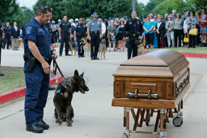 Oklahoma City Police Force Holds Funeral for Fallen K-9 Officer, Kye ...