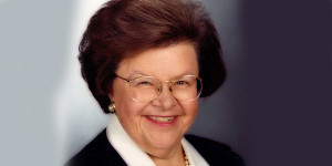 Nowy Jork Senator Barbara Mikulski nagrodzona za wspieranie Polski