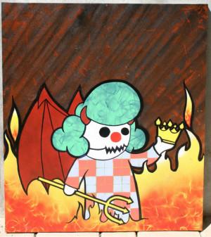 Krusty The Clown Masks Hats