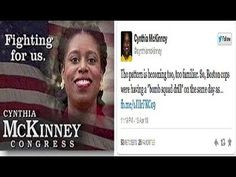 Former CongressWoman Cynthia McKinney Believes Govt Played Role In ...