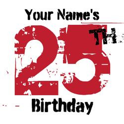 25th_birthday_grunge_personalized_greeting_card.jpg?height=250&width ...