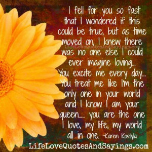 fell for you quotes