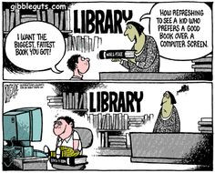 Affordances of library books :-) More