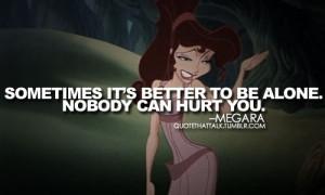 Disney Quotes / Megara from Hercules quote